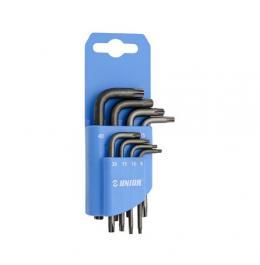 Ključevi imbus sa TX profilom na plastičnom držaču 220/7TXNPH UNIOR
