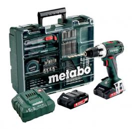 Akumulatorska bušilica BS 18 Quick Set Mobile workshop METABO