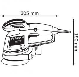 Ekscentar brusilica  GEX 125 AC BOSCH