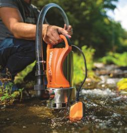 Potapajuća pumpa za prljavu vodu INOX VSP1800 i Villager