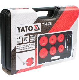 """Garnitura od 15 delova za skidanje filtera ulja 3/8"""" YATO"""