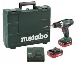 Akumulatorska bušilica odvrtač BS 18 V Li METABO