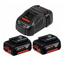 Set brzi punjač GAL 1880 CV i dve baterije 18 V 5,0 Ah Professional Bosch