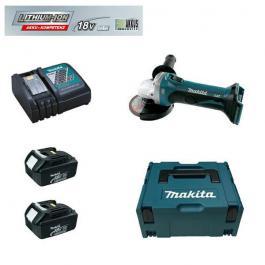 Akumulatorska ugaona brusilica 18V LiJon DGA452RFJ Makita