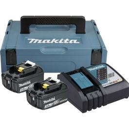 Set baterija 2kom i punjača LiJon 18V/3 Ah Makita