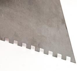 Gleterica čelična za keramičare nazubljena 250mm BEOROL