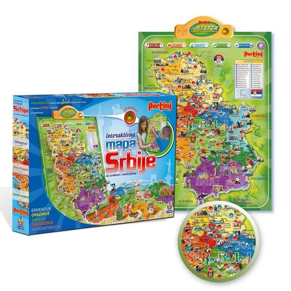 elektronska mapa srbije Elektronska mapa Srbije P 0240   Od Igle Do Lokomotive elektronska mapa srbije