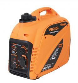 Inverterski agregat VGI 2400 + ugaona električna brusilica VPL AG 2450 W + brusna ploča GW 230x6mm 5 kom. Villager