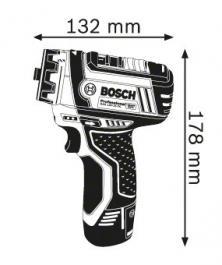 Akumulatorska bušilica-odvrtač Professional GSR 12V-15 FC Professional Bosch