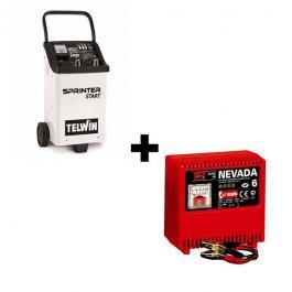 Punjač i starter akumulatora 12-24V Sprinter 3000 + punjač akumulatora Nevada 6 12V TELWIN