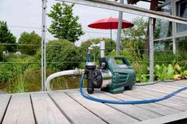 Automatska baštenska pumpa HWAI 4500 INOX Metabo