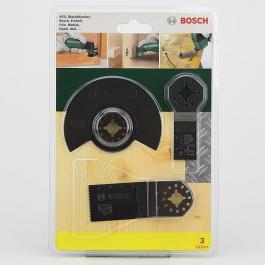 """3-delni Starlock početni set """"Wood"""" za višenamenske uređaje Bosch"""