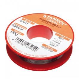 Žica za lemljenje Tinol punjena 1mm 100gr Sn60/Pb39/Cu1 Stannol