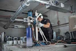 Bušilica za bušenje dijamantskim krunama GDB 350 WE Professional Bosch