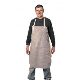 Zaštitna kecelja za zavarivače od govedje kože 90x60 cm