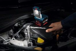 Akumulatorske lampe GLI VariLED Professional. BOSCH
