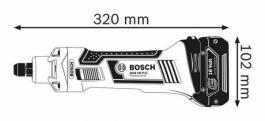 Akumulatorska ravna brusilica GGS 18 V-LI Professional Solo Bosch