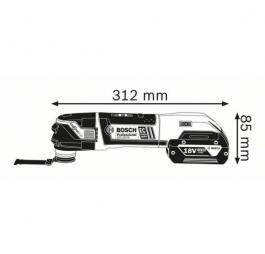 Akumulatorski Multi-Cutter GOP 18V-28 Professional Solo Bosch