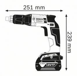 Akumulatorski odvrtač za suvu gradnju GSR 18 V-EC TE Professional Solo Bosch