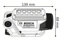 Akumulatorska lampa GLI 12V-330 Professional Solo Bosch