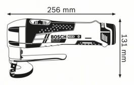 Akumulatorske makaze za lim GSC 12V-13 Professional Solo Bosch