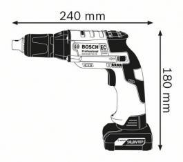 Akumulatorski odvrtač za suvu gradnju GTB 12V-11 Professional Solo Bosch