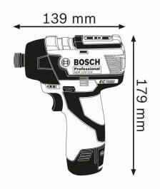 Akumulatorski udarni odvrtač GDR 12V-110 Solo Professional Bosch