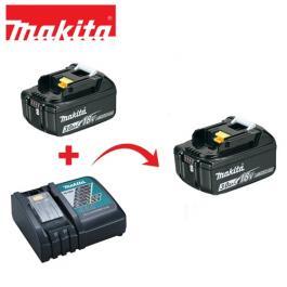 Punjač brzi + 2 baterije BL1830B Makita