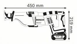 Akumulatorska univerzalna testera GSA 18 V-LI Professional Solo Bosch