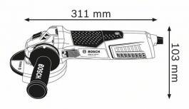 Ugaona brusilica GWS 19-125 CIST Professional Bosch