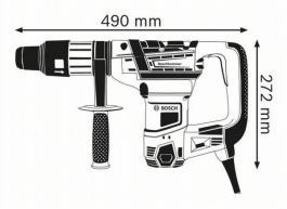 Elektropneumatska bušilica - čekić GBH 5-40 D Bosch