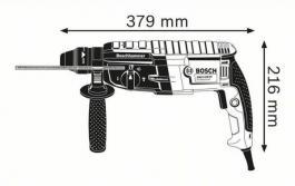 Elektro-pneumatski čekić za bušenje SDS-plus prihvat GBH 2-28 Professional Bosch