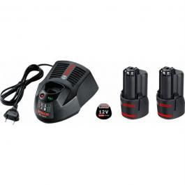 Set 2 baterije GBA 12V 3,0 Ah  + punjač GAL 1230 CV Professional Bosch