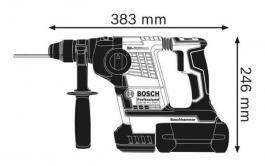 Akumulatorski elektro-pneumatski čekić za bušenje sa SDS-plus prihvatom GBH 36 V-LI Professional Bosch