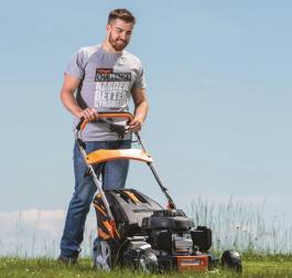 Samohodna motorna kosačica za travu sa HONDA motorom VRS 480 H Villager
