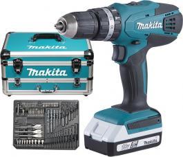 Akumulatorska udarna bušilica-odvijač HP457DWEX4 Makita