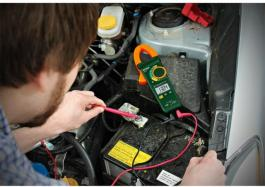 Profesionalna digitalna amper klešta 400A AC/DC MA445 Extech
