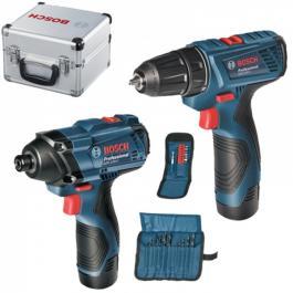 Set 2 akumulatorska alata GDR 120 + GSR 120 Bosch