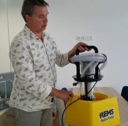 Električna pumpa za dekalcifikaciju Calc-Pusc REMS