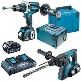 Set akumulatorskog alata u koferu DLX2097PMJ Makita