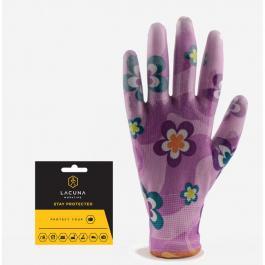Baštenske rukavice roze FLORA 8