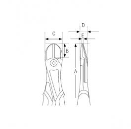 Klešta sečice ERGO 21HDG-180IP Bahco