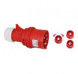 Industrijski utikač IEC 309 promena faza 32A 400V IP44 Commel