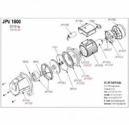 Hidroforna pumpa VB 50/1500B Elpumps