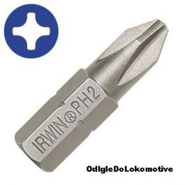 Nastavak za šrafljenje Insert PH1 1/4 25mm (10kom) IRWIN