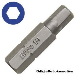 Nastavak za šrafljenje HEX 4mm 1/4 25mm (10kom) IRWIN