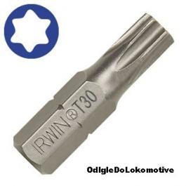Nastavak za šrafljenje Insert Torx 27 1/4 25mm (10kom) IRWIN