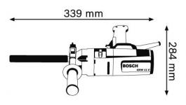 Električna mešalica GRW 11 E BOSCH