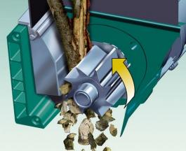 Električna seckalica - drobilica za grane AXT 25 D BOSCH
