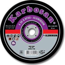 Rezna ploča za Aluminijum 115mmx1.0x22 Karbosan